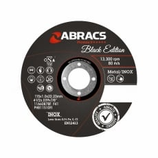ABRACS 115mm x 22mm Metal Slitting Discs 10pk