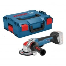 BOSCH GWX18V-10PC 18v 125mm Brushless Grinder Body and LockBox