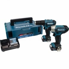 MAKITA CLX228AJ 12v HP333/TD110 Drill & Impact Driver Twin Pack with 2x2ah batteries