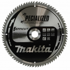 MAKITA B-67262 305x30mm 80T Efficut Saw Blade