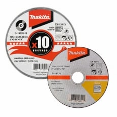 MAKITA D-18770-10 Thin Cutting Wheel In Can 125mm (10 pack)