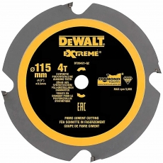 DEWALT DT20421 115mm x 9.5mm 4T PCD Saw Blade