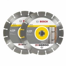 BOSCH 0615997496 230mm Diamond Blade Twin Pack