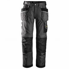SNICKERS 3212 Muted Black / Black DuraTwill Trousers