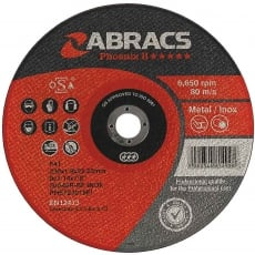 ABRACS Phoenix 115mm x 1.0mm x 22mm Thin Metal