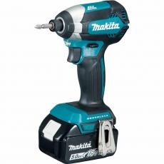 MAKITA DTD153RTJ 18v LXT Brushless Impact Driver with 2x5Ah Batteries