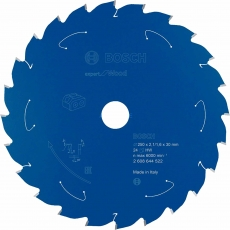 BOSCH 2608644522 250mm x30mm 24T Table Saw Blade