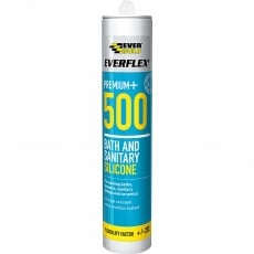 EVERBUILD 500TR Bath & Sanitary Silicone 500 - Clear