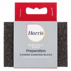 HARRIS 102064323 SERIOUSLY GOOD Sanding Block - Coarse