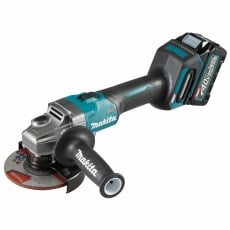 MAKITA GA005GD101 40v Brushless XGT 125mm Grinder with 1x2.5ah Battery