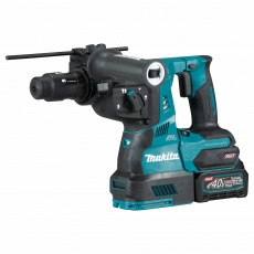 MAKITA HR004GD202 40v Brushless XGT SDS Plus Hammer + DX14 + QCC and 2x2.5 Batteries
