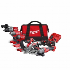 MILWAUKEE M18FPP5M-502B 18v FUEL 5 piece Combo Kit with 2x5ah Batteries