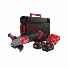 MILWAUKEE M18FHSAG125XPDB-552X 18v Grinder with 2x5ah Batteries