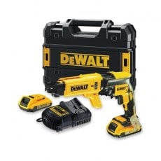DEWALT DCF620D2K 18v Brushless Drywall Screwdriver with 2x2ah Batteries