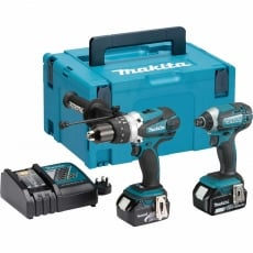 MAKITA DLX2145TJ 18v DHP458/DTD152 Twin Pack with 2x3Ah Batteries