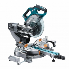 MAKITA LS002G 40v BL XGT 216mm Mitre Saw with 2x4ah Batteries