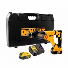 DEWALT DCH263P2 18v Brushless SDS+ Hammer Drill with 2x5ah Batteries