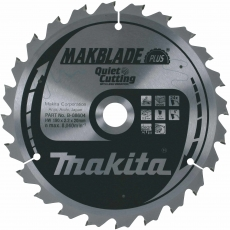 MAKITA B-08676 216x30mm 60T Quiet Saw Blade -Wood