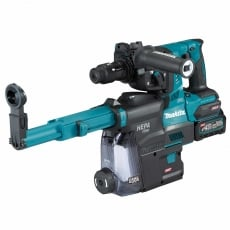 MAKITA HR004GD204 40v Brushless SDS+ Hammer+QCC with 2x2.5ah Batteries