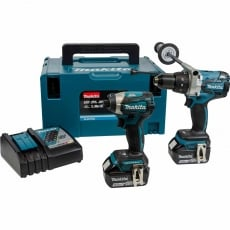 MAKITA DLX2176TJ 18v DHP481/DTD154 Twin Pack with 2x5Ah Li-Ion Batteries