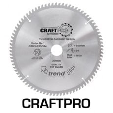 TREND CSB/AP19060 190mm x 30mm 60T Craft Blade Alu