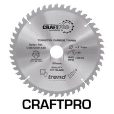 TREND CSB/CC19048 190mm x 30mm 48T Craft Saw Blade