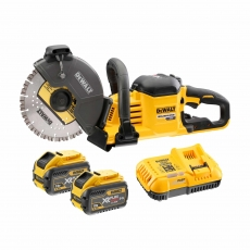 DEWALT DCS690X2 54V XR Flexvolt 230mm Cut Off Saw