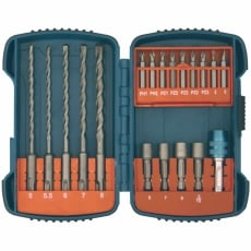 MAKITA P-66086 19 piece SDS+ Drill and Drive Set