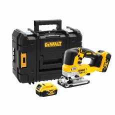 DEWALT DCS334P2 18v Brushless Jigsaw with 2x 5ah Batteries
