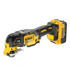 DEWALT DCS355P1 18v Brushless Multi-Tool 1x5ah Battery