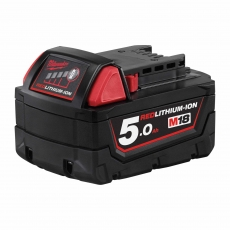 MILWAUKEE M18B5 M18 18v 5ah Red Lithium-Ion Battery