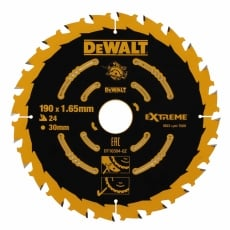 DEWALT DT10304QZ 190x30mm 24T Saw Blade (Corded)
