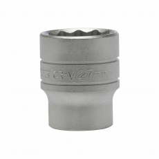 "TENG M120527-C 27mm 1/2"" Drive 12 Point Socket"