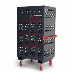 ARMORGARD FC6 Mobile Fittings Cabinet Mesh Design