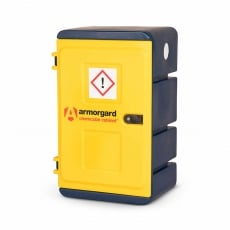 ARMORGARD CCC1 Plastic Chemical Cabinet 575x440x910