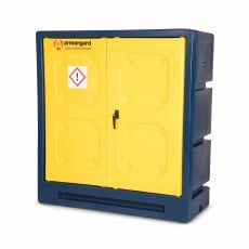 ARMORGARD CCC3 Plastic Chemical Cabinet 1220x550x1310