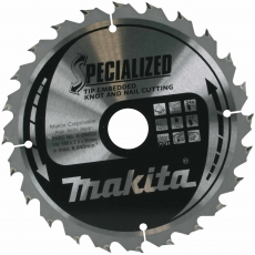 MAKITA B-09422 190x30mm 24T Saw Blade -Wood/Nails
