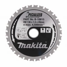 MAKITA B-10615 136mm 30T Blade