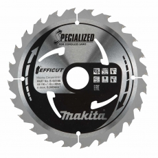 MAKITA B-64185 190x30mm 24T Efficut Saw Blade for Wood